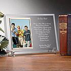 Dear Dad© Personalized Glass Frame