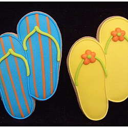 Flip Flop Cookie Wedding Favor :  recommender idea finders finds