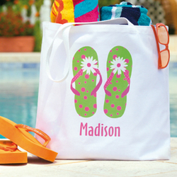 Flip Flops Tote Bag :  recommender idea finders finds