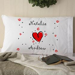 Ooh-La-La Personalized Pillowcase