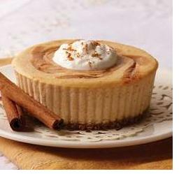 Individual Pumpkin Cheesecakes