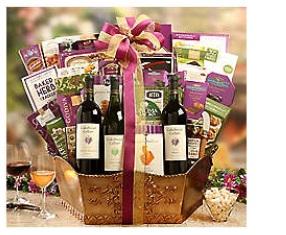 Cakebread Wine VIP Snack Basket