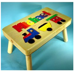 Puzzle Step Stool
