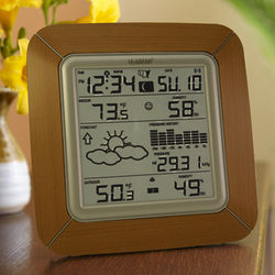 Wireless Weather Forecaster With Swiss Barometer