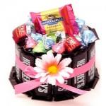 Candybar Cupcake in Pink