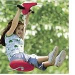 Kid's 70-Foot Zipline with Seat