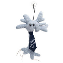 World's Smartest Dad Brain Cell Plush Doll