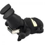 Black Ninja 4GB USB Flash Drive